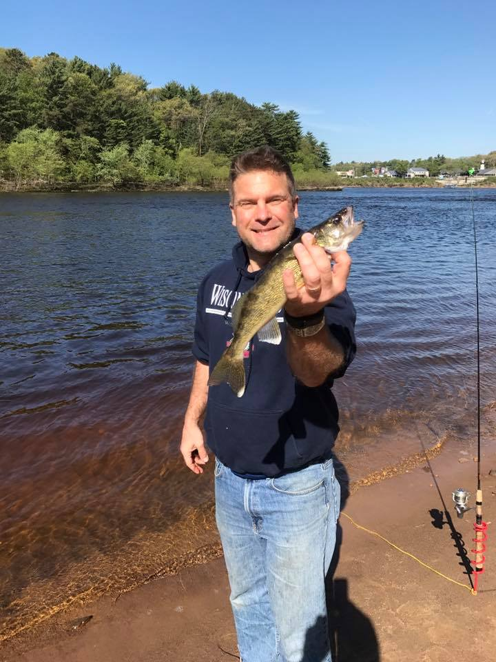 Wisconsin dells dam wisconsin river sauk county fishing for Lake link wi fishing reports