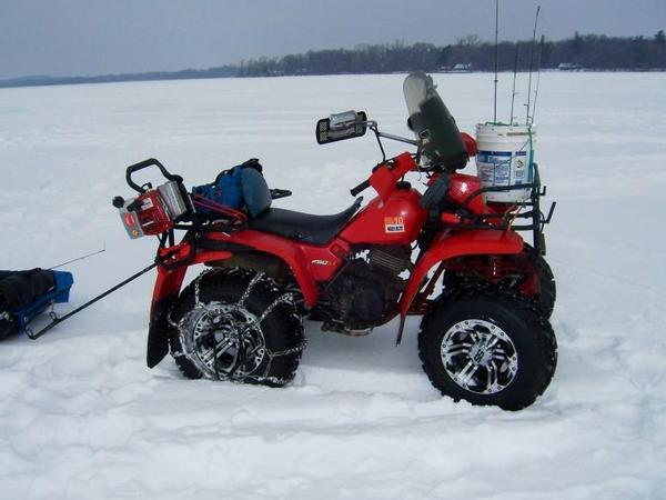 Chains for atv tires for Atv ice fishing accessories