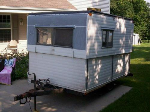 Pop Up Shanty : Question on tires for pop up camper converted to an ice shack