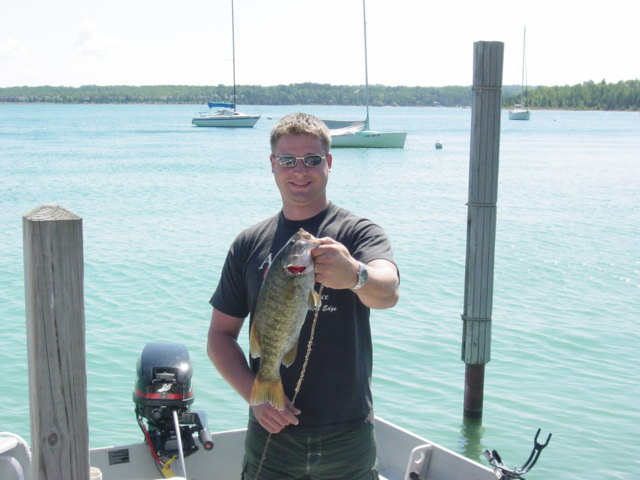 Charlevoix lake charlevoix county fishing reports and for Michigan fishing reports