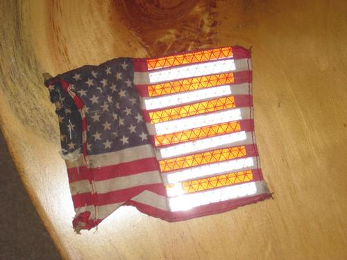customized tip up flags lets see em