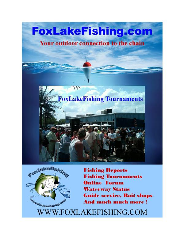 Fox lake lake county fishing reports and discussions for Illinois fishing license cost