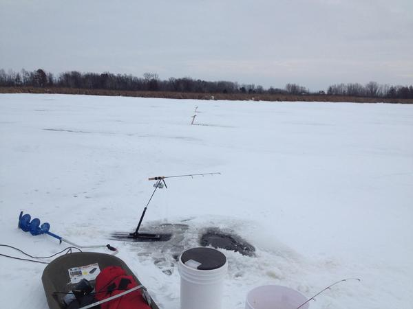 mud lake wisconsin fishing spot