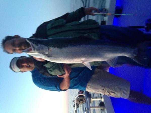Capt guy nuechterlein for Kewaunee fishing report