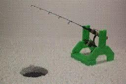Correct spring bobber for jigging 3 4 swedish pimples for Swedish pimple ice fishing