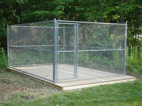 Outdoor Kennel Building A Platform