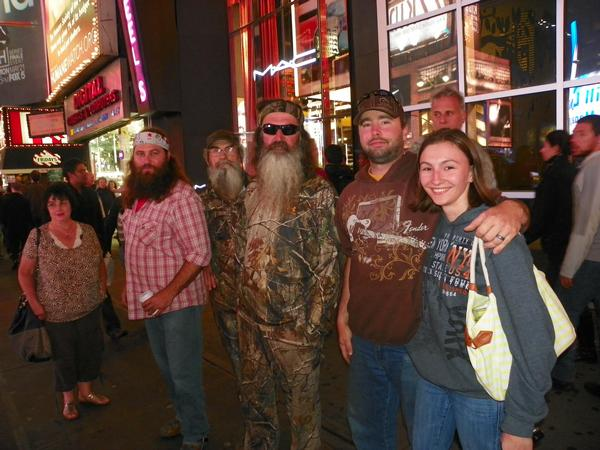 Ran into Phil Robertson in Times Square