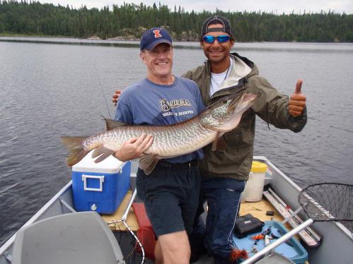 Lake Link Fishing Reports on Fishing Reports For Lac Seul  Ontario