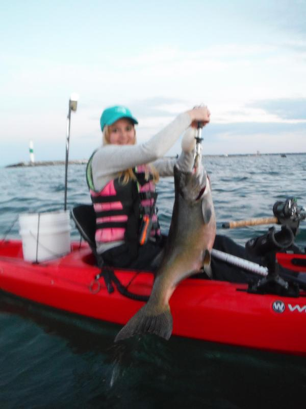 Fishing reports for lake michigan kayak fishing for Lake michigan fishing report