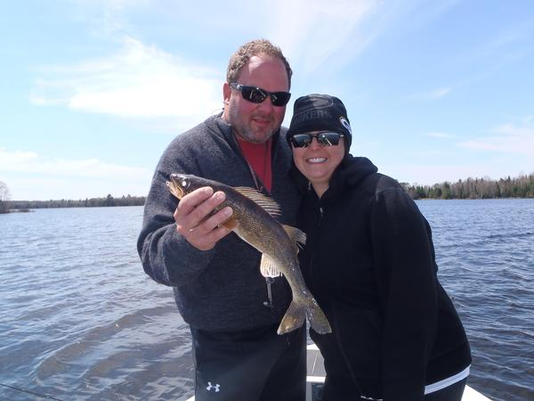 2015 05 06 1 fishing report turtle flambeau flowage for Wisconsin fishing guides