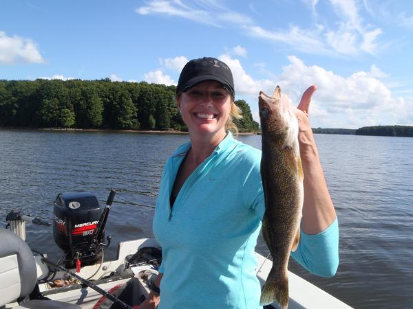2015 09 08 fishing report turtle flambeau flowage for Wisconsin fishing guides
