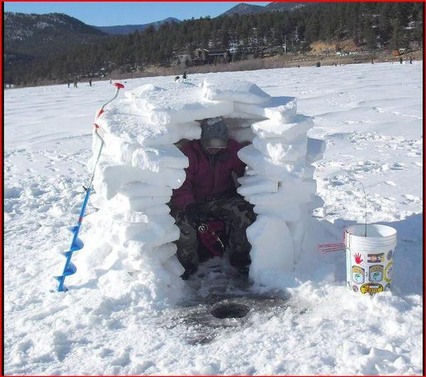 cool portable ice fishing house plans pictures - best inspiration