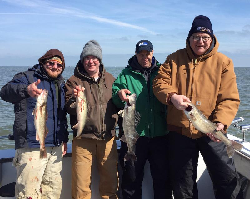 Fishing reports for port clinton for Clinton lake fishing report