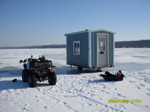 Building A Ice Shack