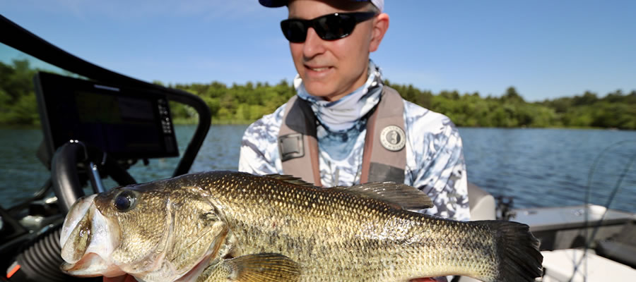 Don't Overlook that Spring Shoreline - Fishing from shore and/or docks into early summer can provide some of the best angling of the year.