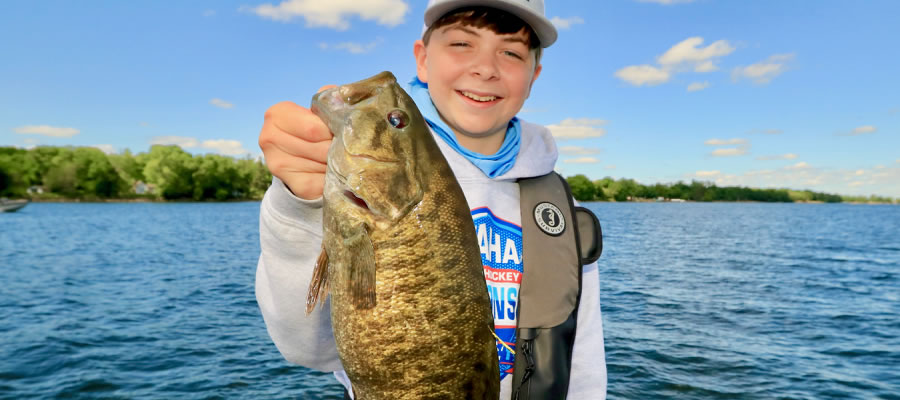 Cast Small Swimbaits For Big Cold Water Bass - The cooling temperatures of fall transitioning into winter present one of the best times of year to hook into large bass.
