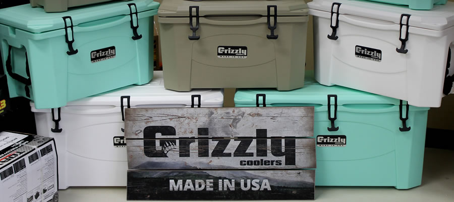 Meet Grizzly Coolers - Made in Iowa and loaded with features that can't be beat.