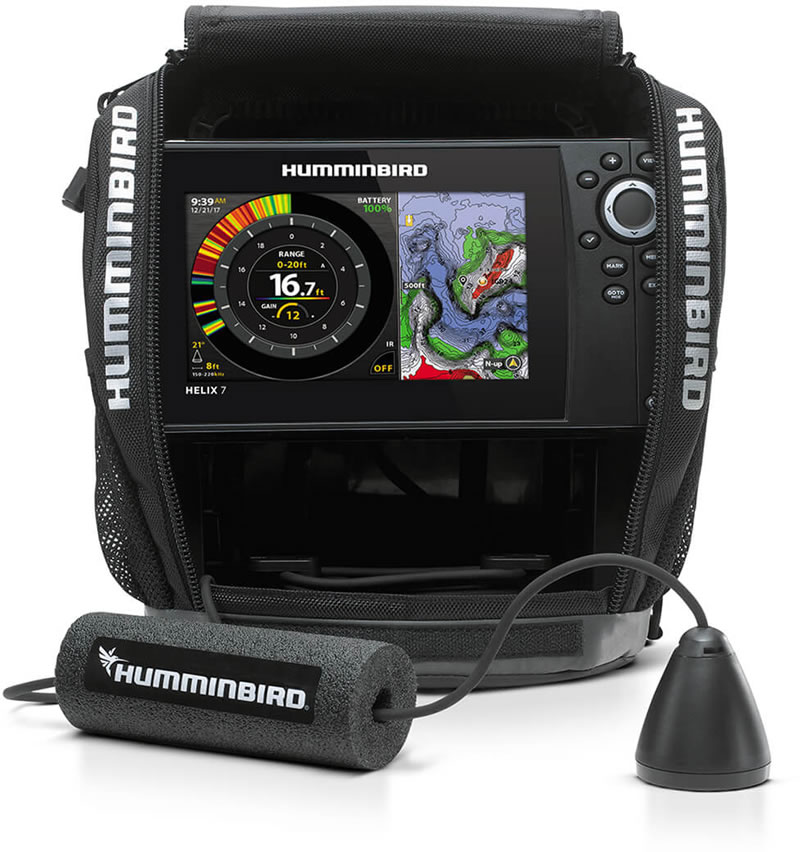 Humminbird ICE HELIX 7 CHIRP GPS G3N All-Season
