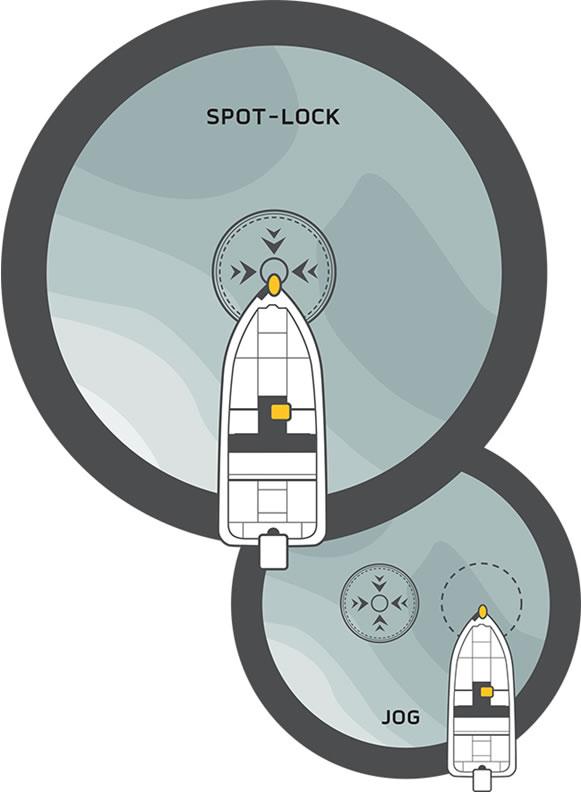 Minn kota unveils reinvented spot lock for Spot lock trolling motors