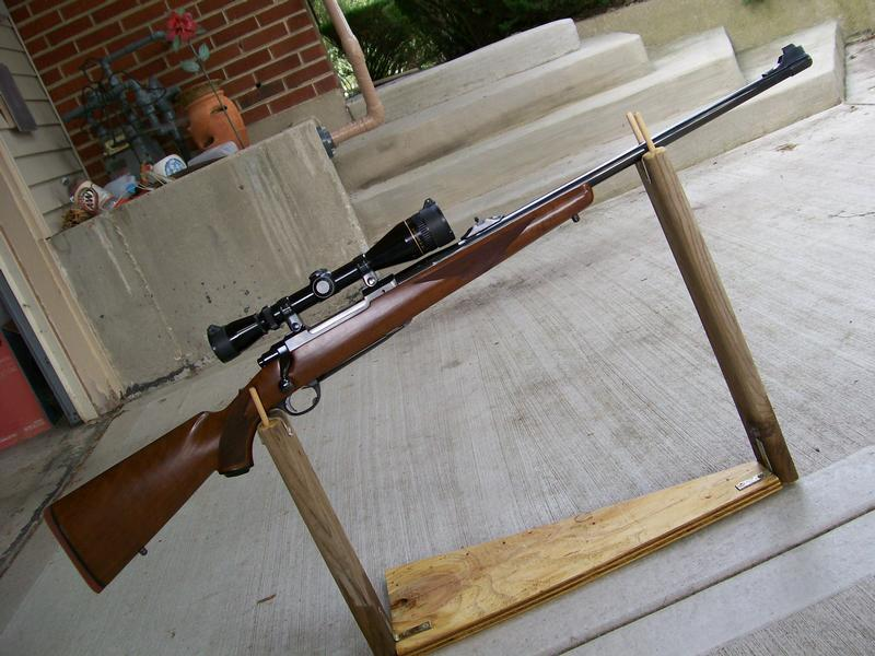 Ruger m 77 in 338 for Clements fishing barge