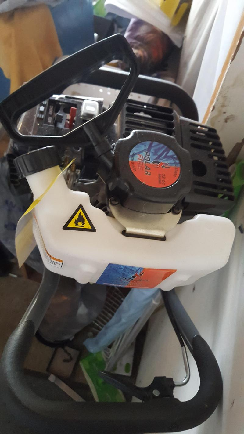 Ht polar ice auger brand new, never used
