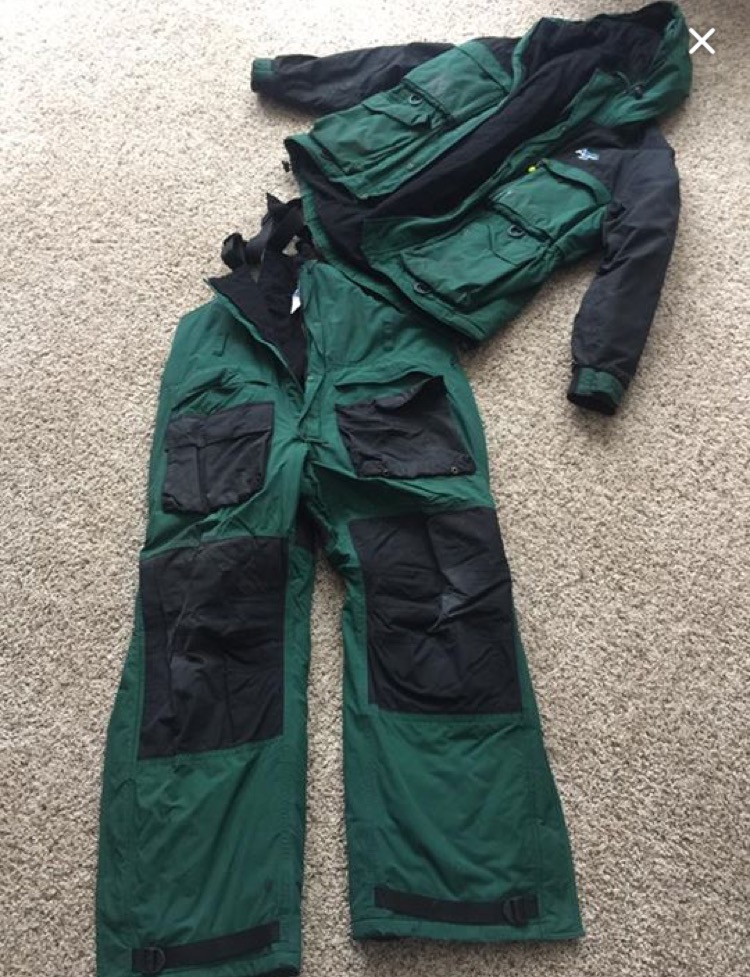 Arctic armor plus floating ice suit for Floating ice fishing suit