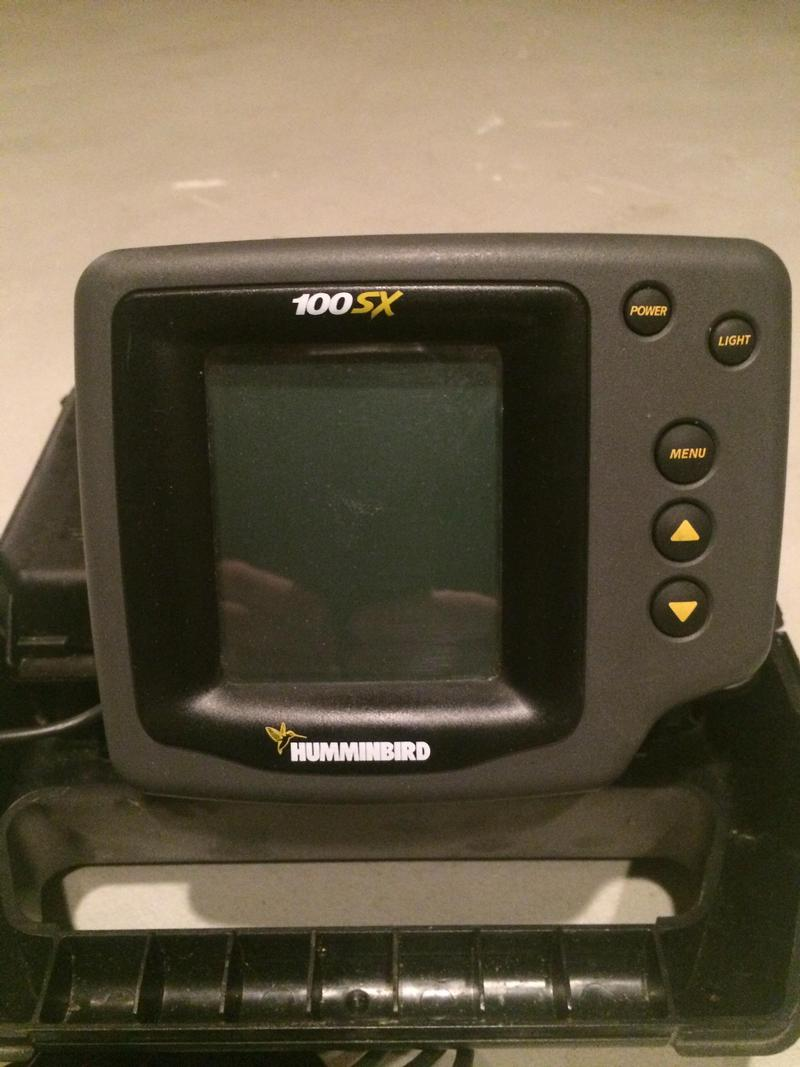 Humminbird 100sx portable fish finder for Humminbird portable fish finder