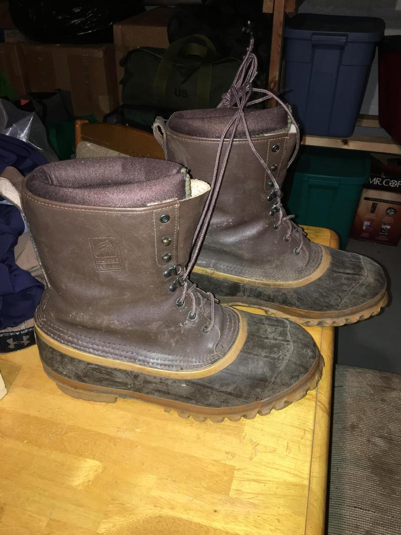 Lacrosse iceman pac boots for Ice fishing boots
