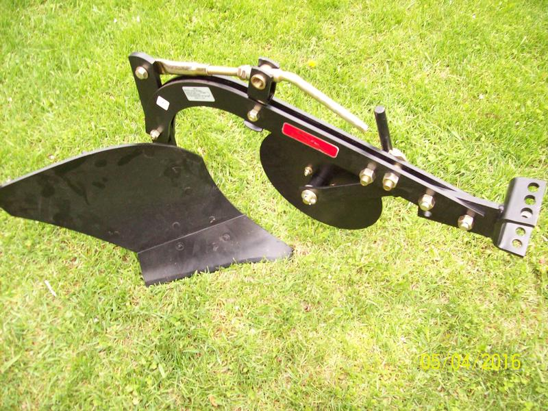 new 10 inch brinly food plot plow use with atv or garden